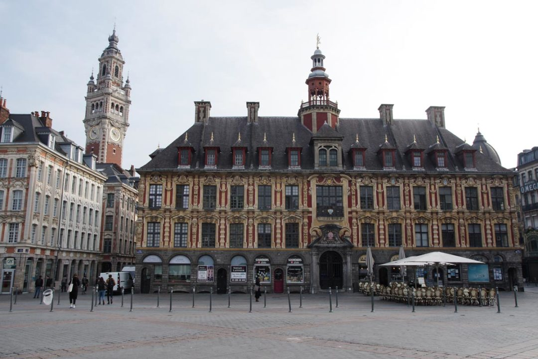 Grand Place de Lille et la Vieille Bourse