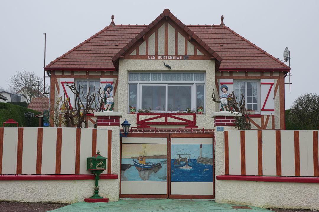 villa les hortensias à Quiberville