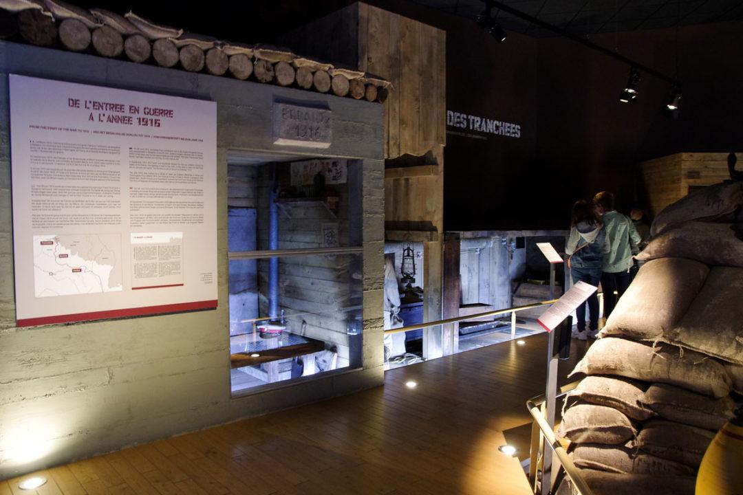 Visite du musée de la Bataille de Fromelles