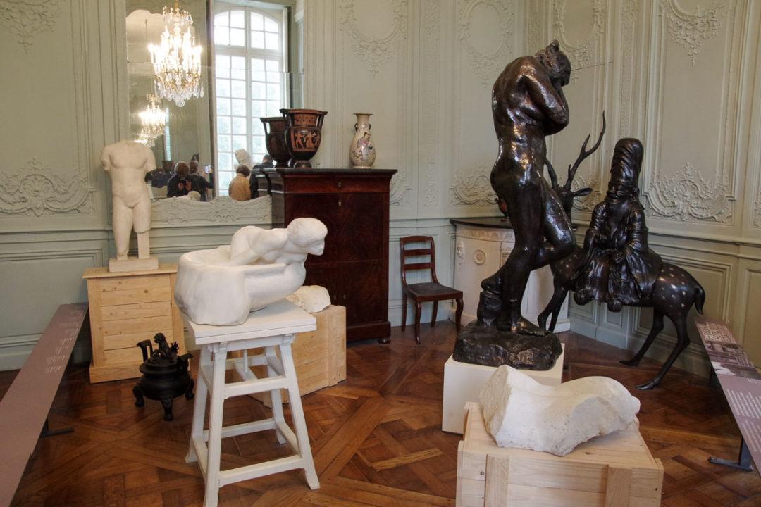 Intérieur du musée Rodin - Paris
