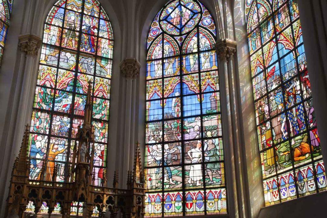 Les vitraux de l'Eglise de Bouvines