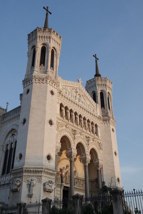 Extérieur de la Basilique de Fourvière
