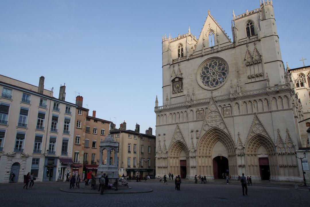 La Cathédrale Saint Jean à Lyon