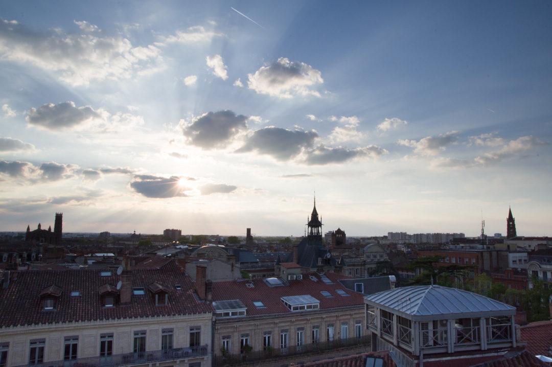 Coucher de soleil sur Toulouse