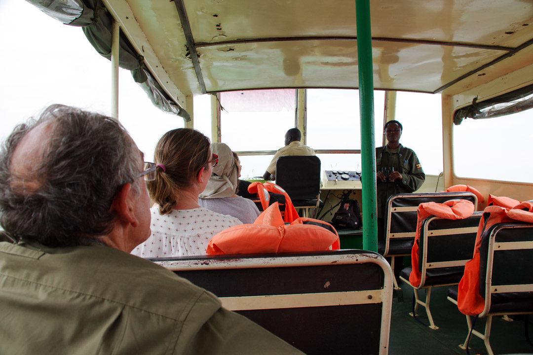 Croisière sur la Kazinga Channel