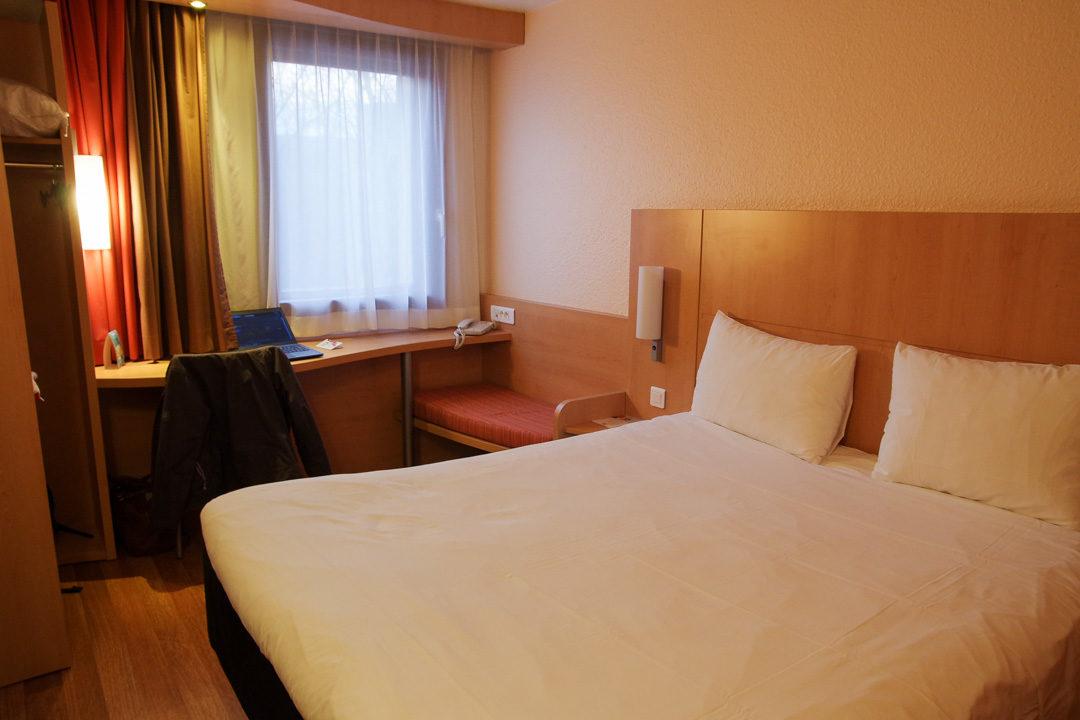 Chambre hotel Ibis Gare Part Dieu
