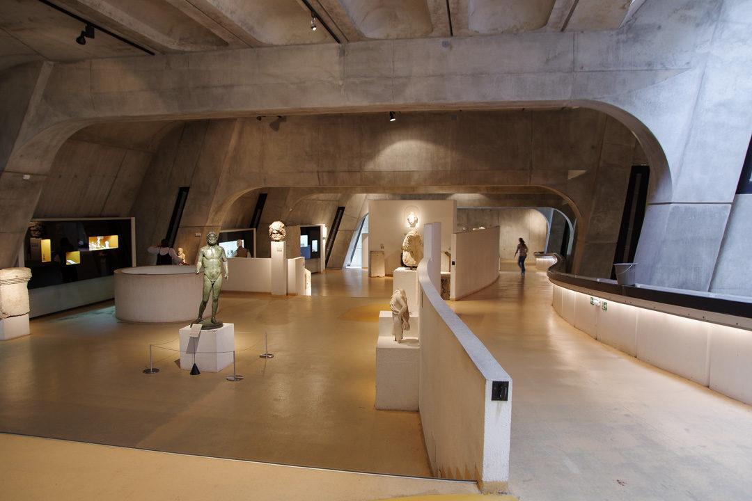 musée Lugdunum sur la période antique à Lyon