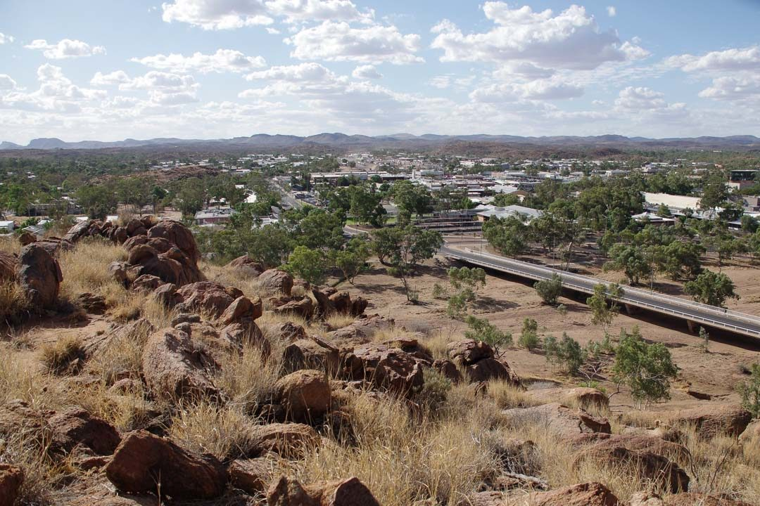 Panorama sur Alice Springs