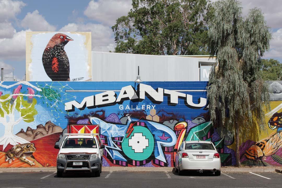 Fresque Street Art - Alice Springs