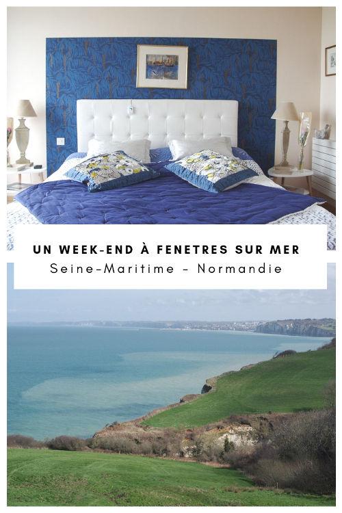 Week-end à Fenetres-sur-Mer, une chambre d'hôtes romantique en Normandie
