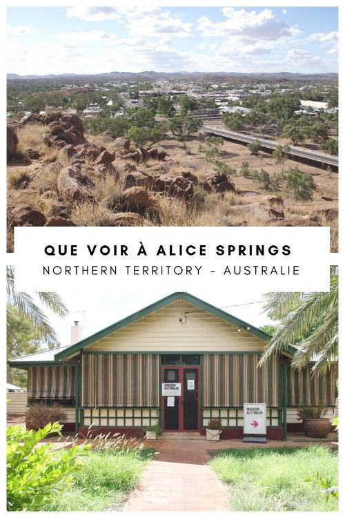 Que faire et que voir à Alice Springs dans le Territoire du Nord en Australie ?