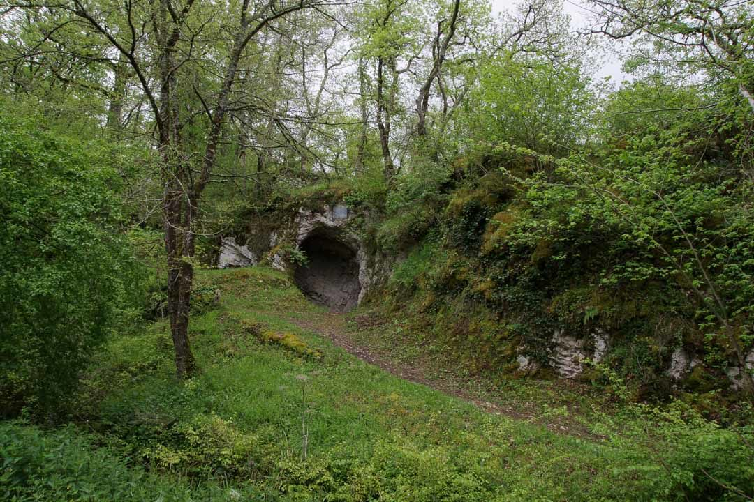Caverne de l'Aurignacien