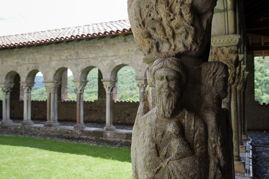 cloitre de St Bertrand de Comminges