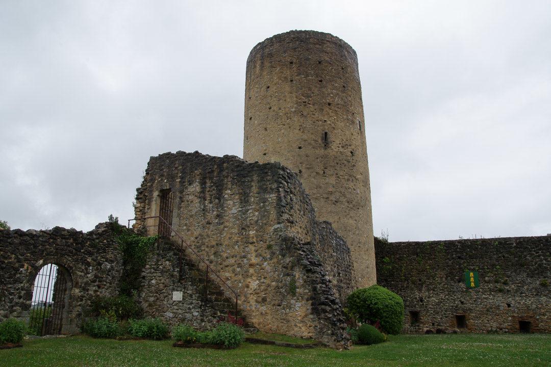 Donjon médiéval d'Aurignac