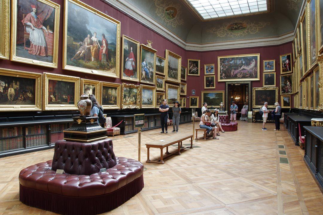Gallerie de Peintures du château de Chantilly