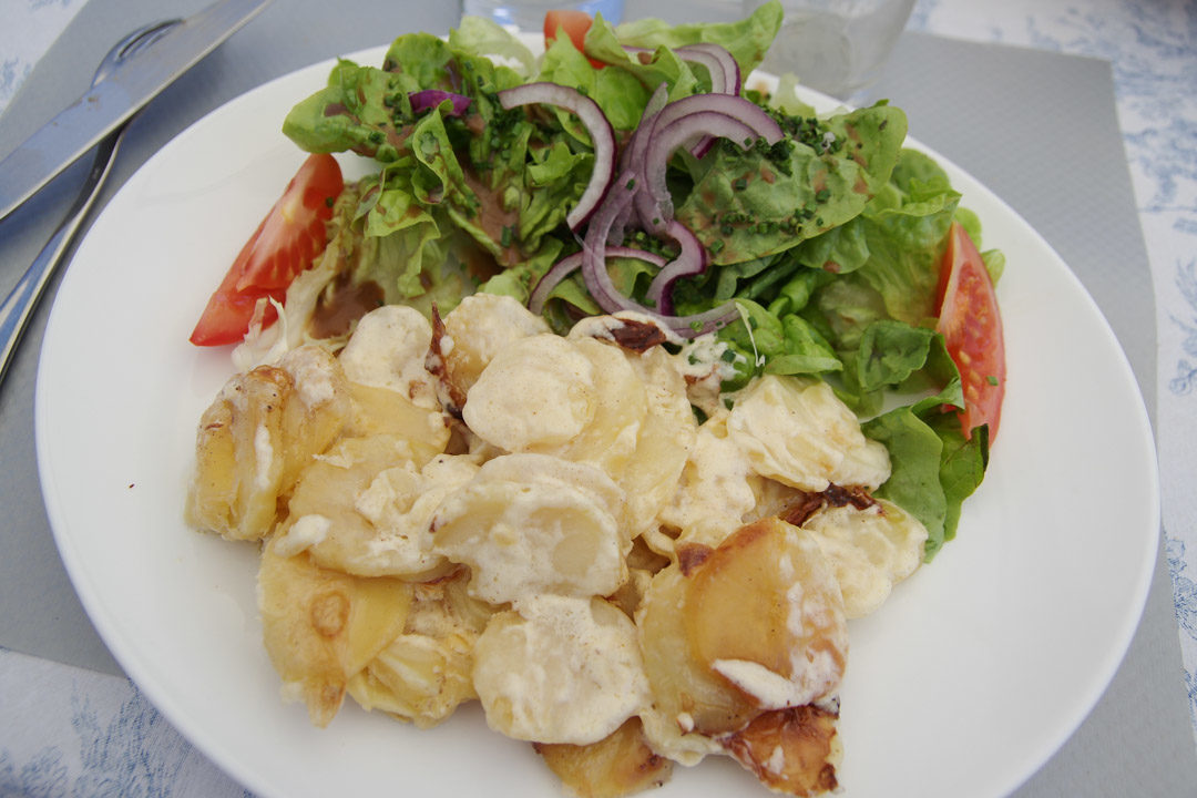 Gratin de Pommes de Terre - restaurant du Hameau