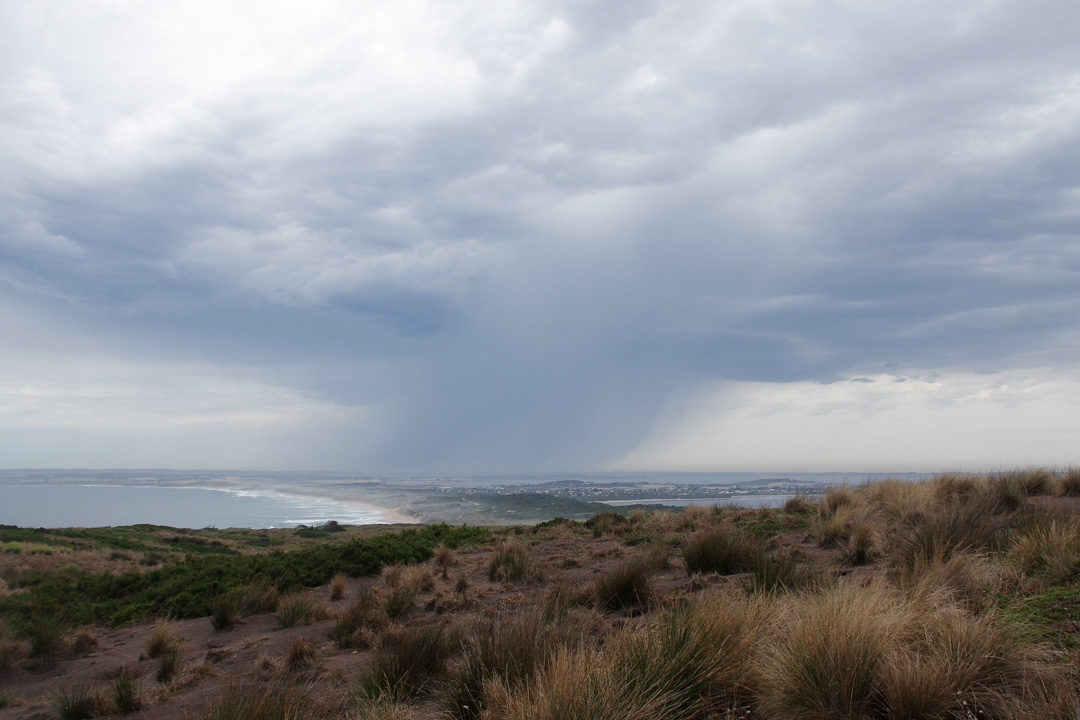 orage sur Phillip Island