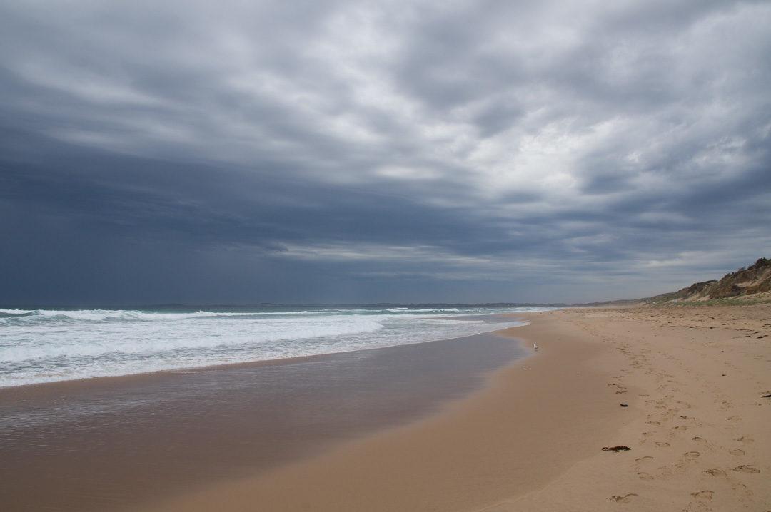 grande plage du Cape Woolamai