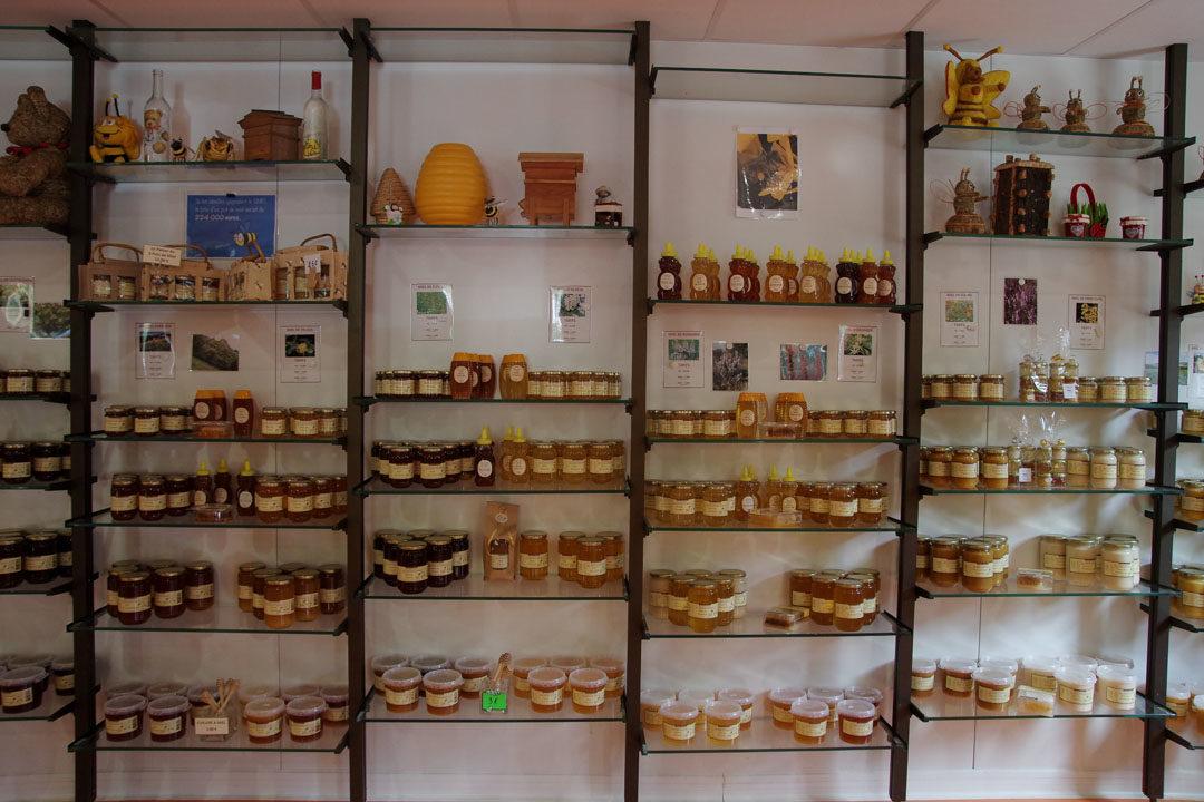 vente de miel à Génos