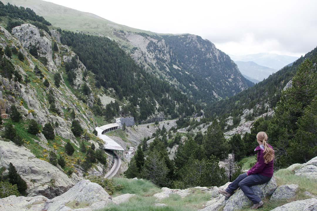 randonnée dans le Vall de Nuria
