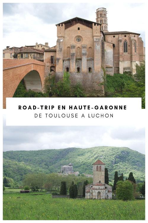 Itinéraire pour un road-trip en Haute-Garonne