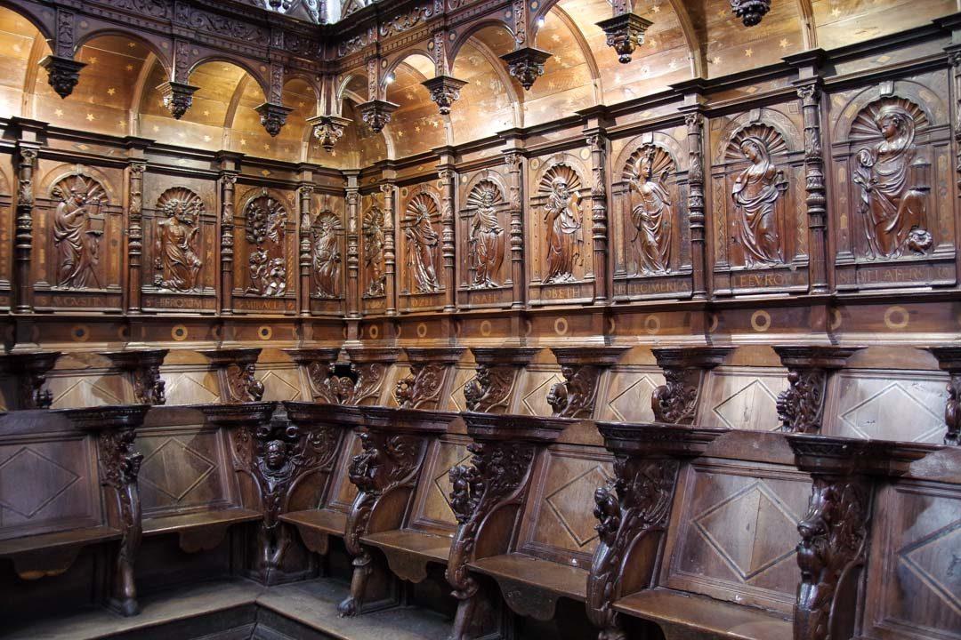 Stalles de la cathédrale de St Bertrand
