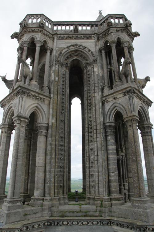 Les boeufs sur la tour de la cathédrale de Laon