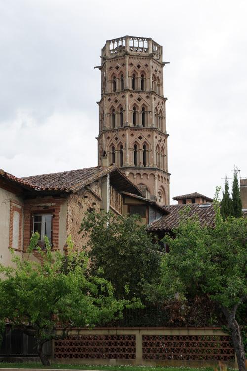 tour de la cathédrale de Rieux Volvestre