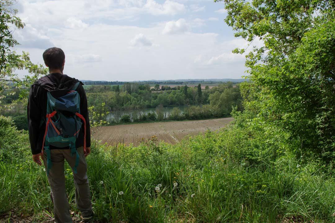 Randonnée Via Garona près de Rieux Volvestre