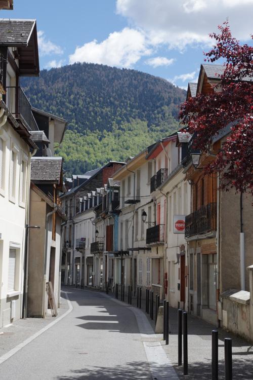 balade dans les rues de Luchon