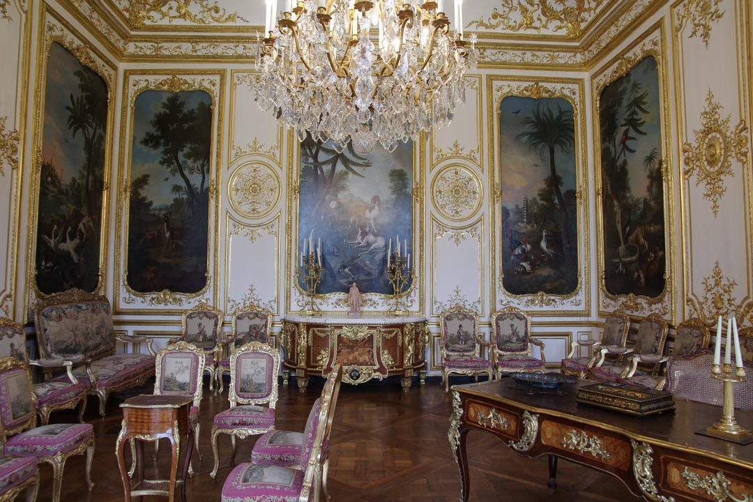 les appartements du château de Chantilly