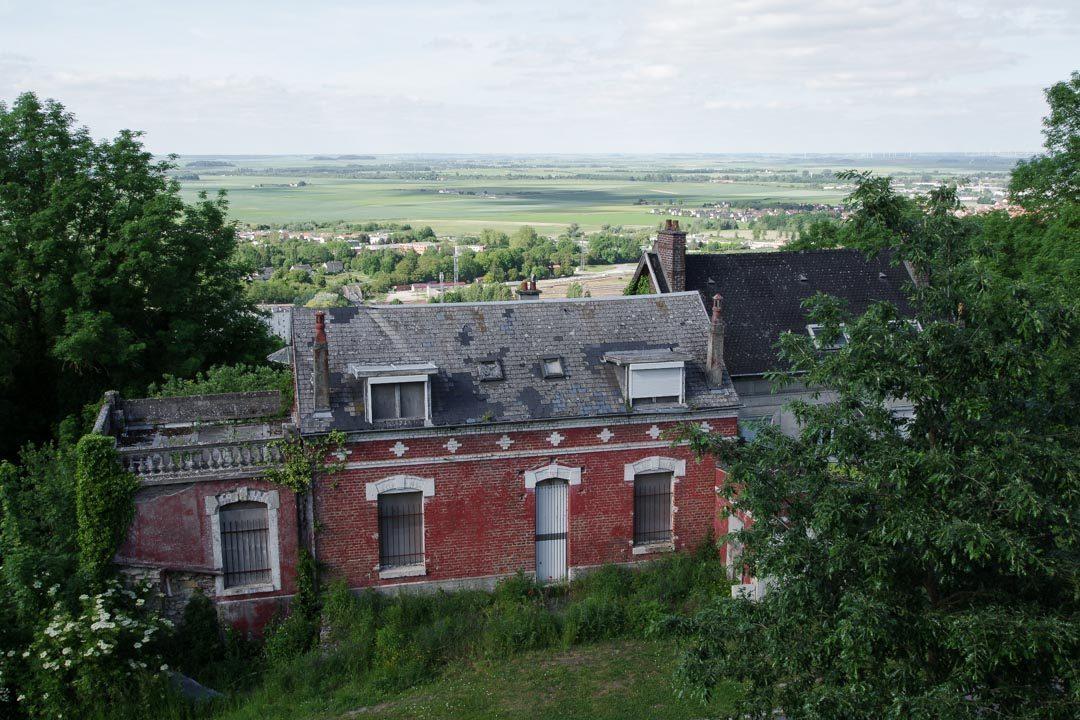 Vue depuis les remparts de Laon