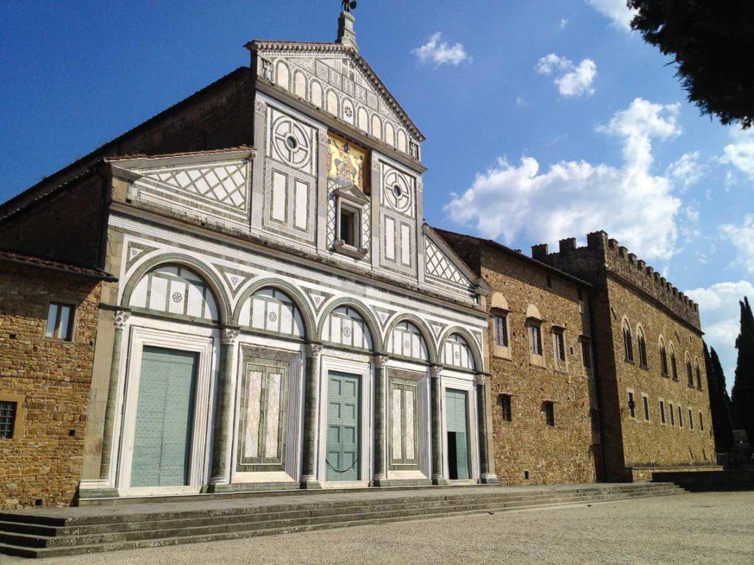 Eglise San Miniato Al Monté à Florence