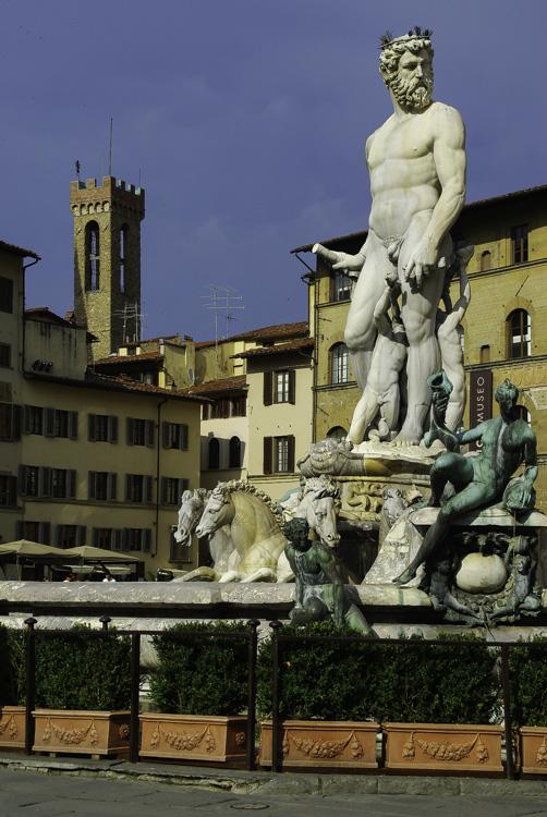 Les statues de la Piazza della Signoria