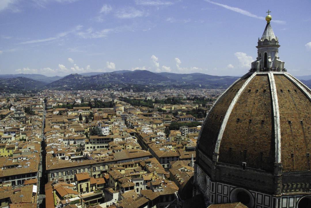 vue sur Florence depuis le Campanile