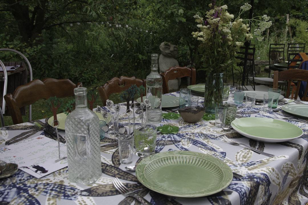 Déjeuner au Jardin d'Hélène