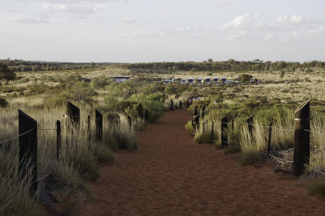 sentier Dune Walk - Uluru