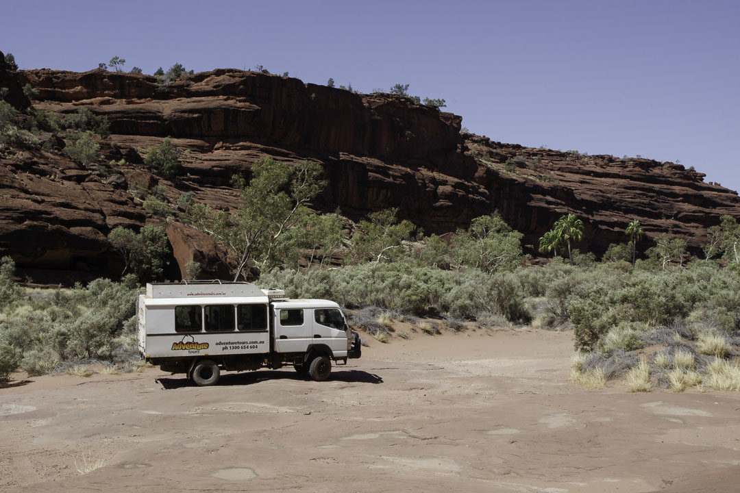 Bus 4*4 d'excursion à Finke Gorge NP