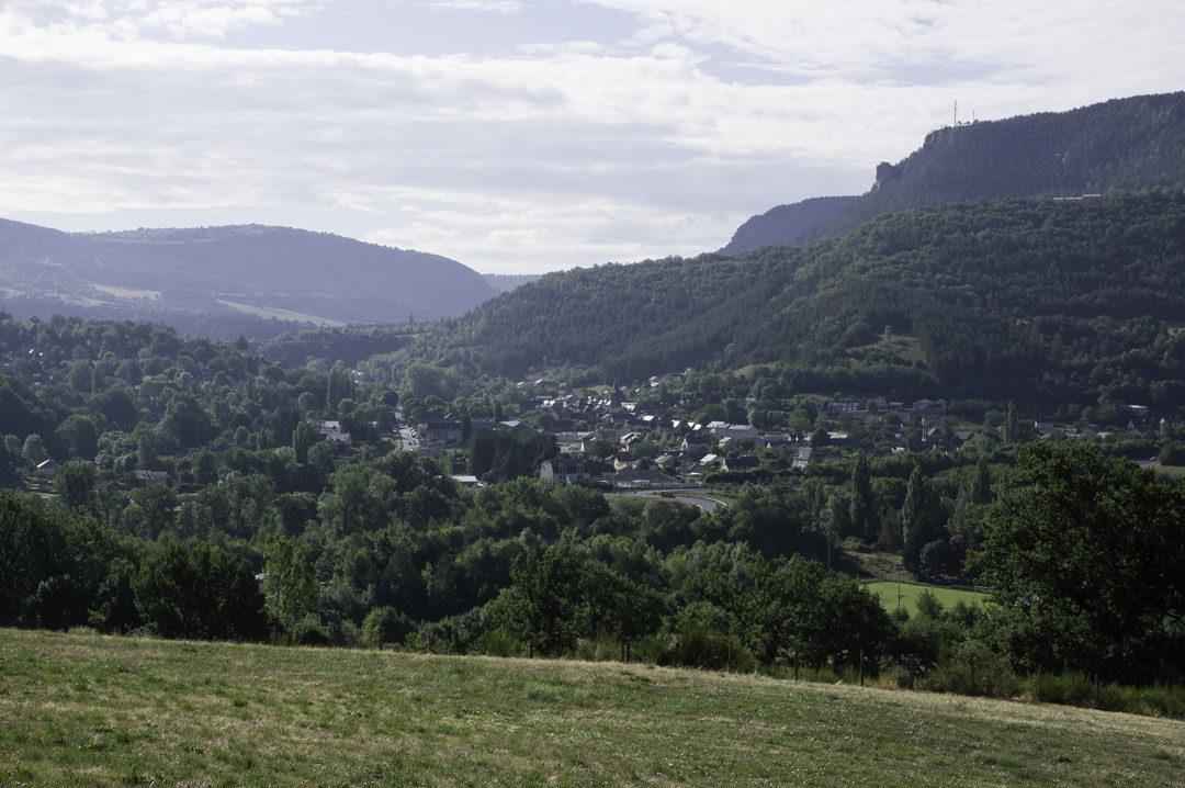 Panorama sur La Canourgue