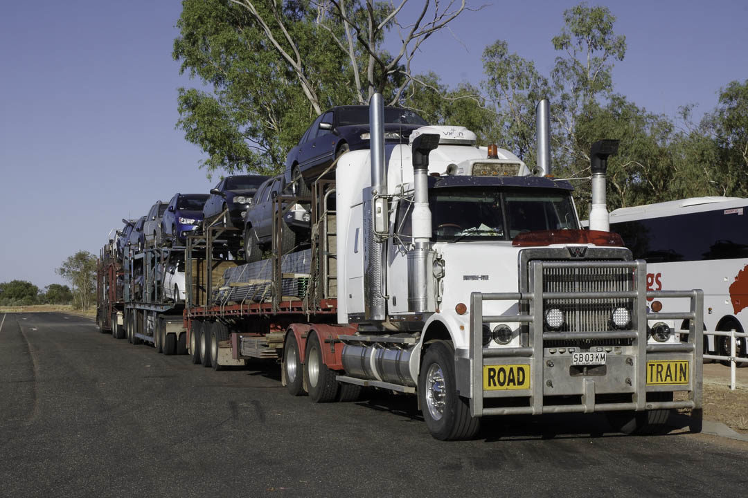 Road Train - camion de l'outback australien