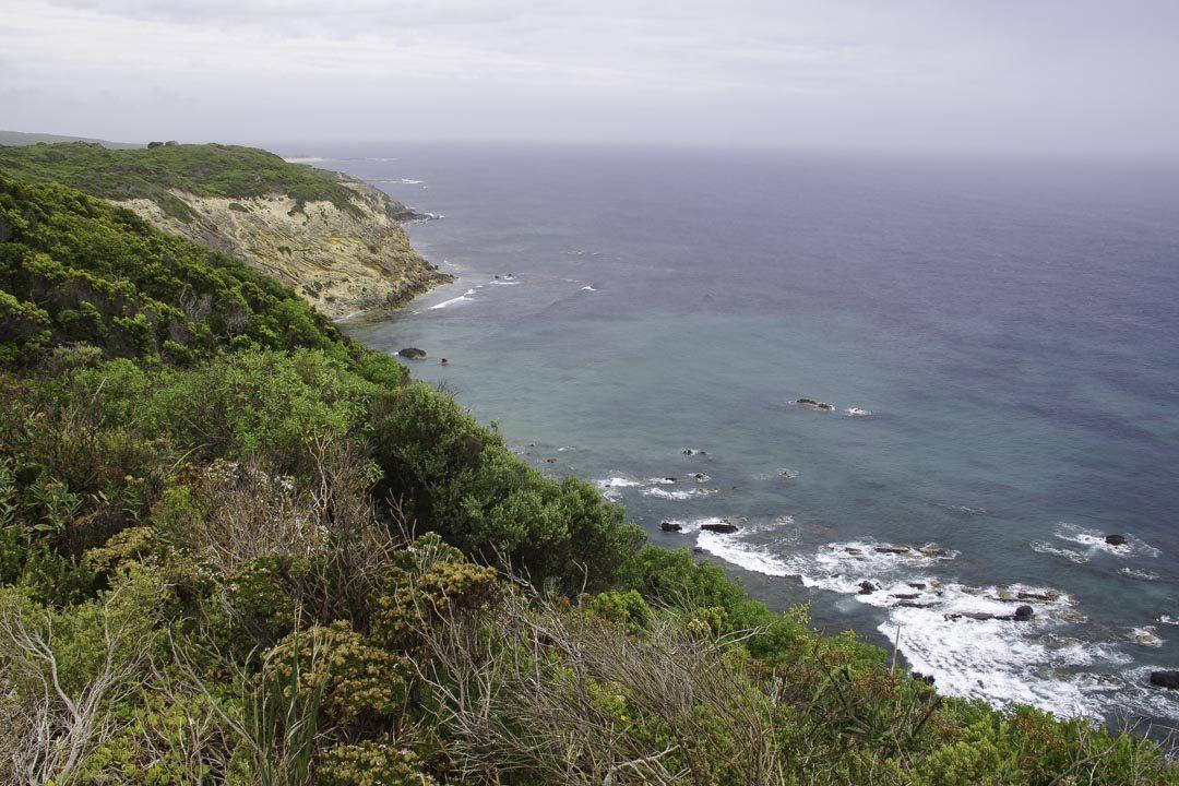 Paysage du Cap Otway en Australie