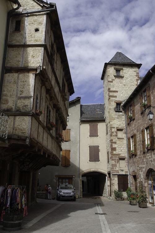 centre historique de la Canourgue