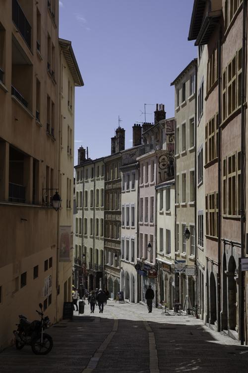 quartier de la Croix Rousse à Lyon