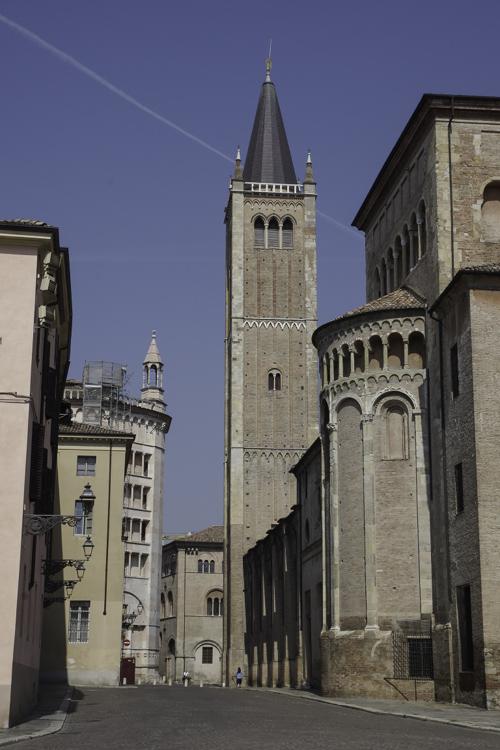 Le Duomo et le Baptistère de Parme