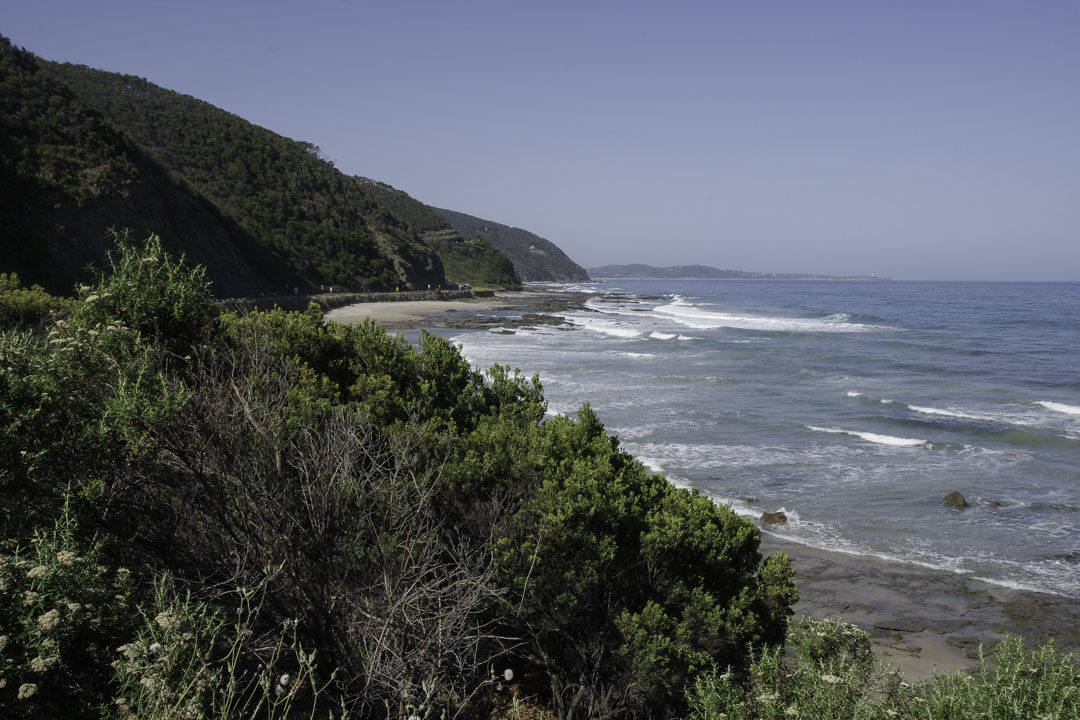 Paysage de la Great Ocean Road entre Lorne et Apollo Bay
