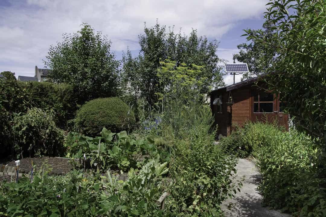 Jardin du gite d'étape de Saint Germain du Teil