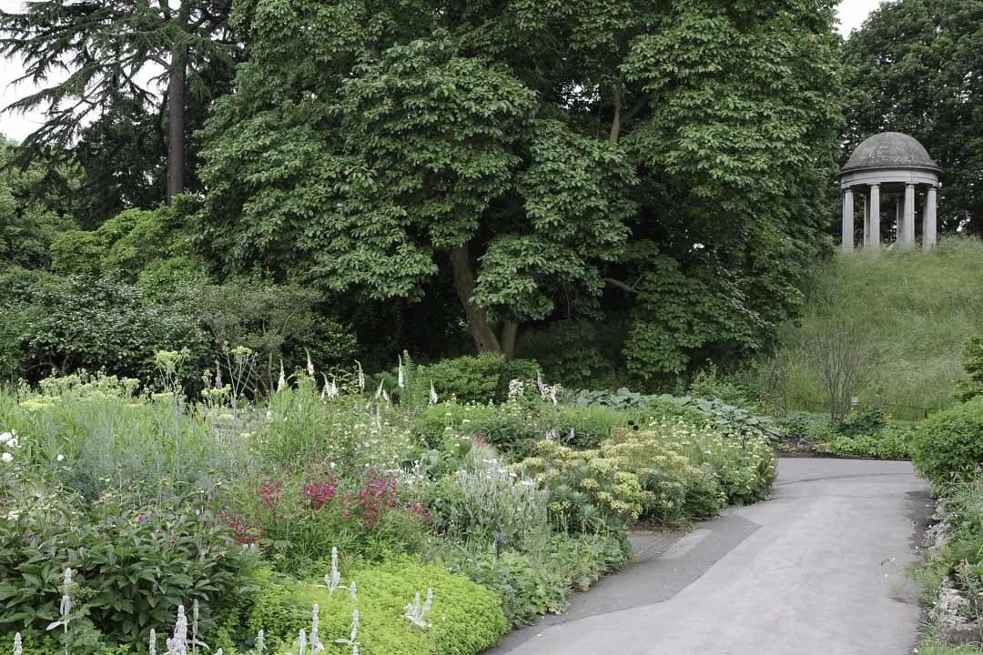 Visite de Kew Gardens près de Londres