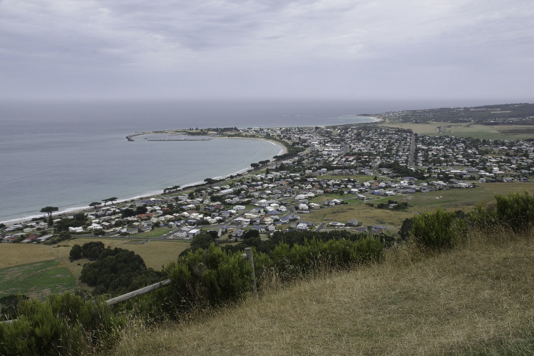 Point de Vue sur Apollo Bay depuis Mariners Lookout