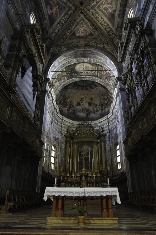 Coeur de l'eglise Saint Jean L'Evangeliste - Parme
