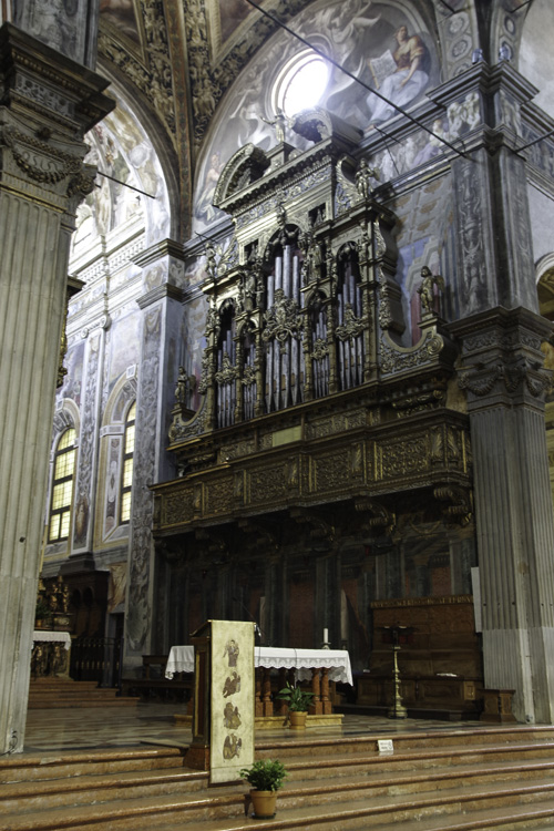 Orgue - Eglise Saint Jean L'Evangeliste - Parme